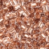 2-Cut Beads Extra Size 10 Crystal Copper Lined